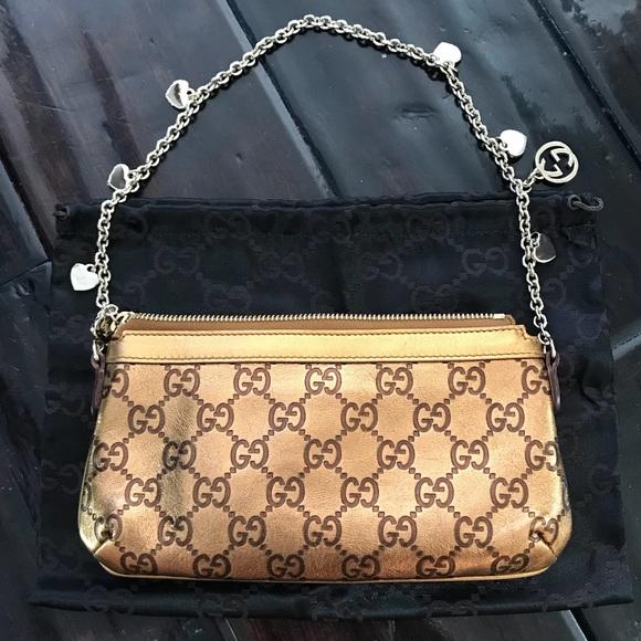 59d71a270c8c Gucci Handbags - Gucci GG Guccissima Leather Pochette